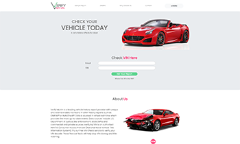 Vin Report - freelance web design USA